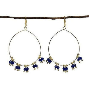 Delicate Droplet Earrings in Cobalt (GC) World Finds
