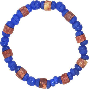 Down to Earth Bracelet Blue (GC) Ghanaian Collection