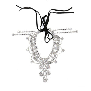 Draping Crystals Anklet Women - Jewelry - Bracelets