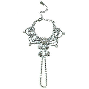 Draping Crystals Handpiece Women - Jewelry - Bracelets