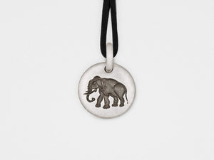 Elephant Charm Pendant in Sterling Silver Women - Jewelry - Necklaces