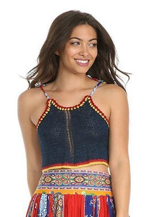 FIESTA DE PLAYA CROP Women - Apparel - Shirts - Crop