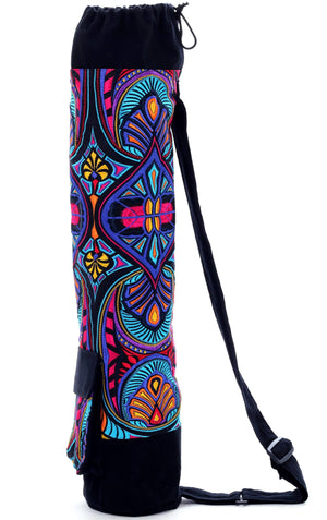 Floral Ibiza Yoga Mat Bag Yoga