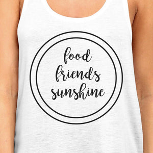 Food Friends Sunshine Tank Top Women - Apparel - Shirts - Sleeveless