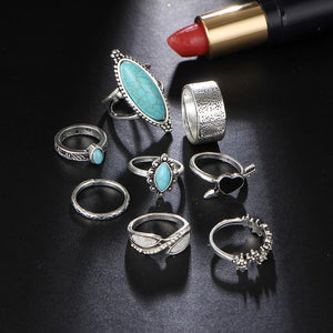 Ibiza Gypsy Antique Ring Set