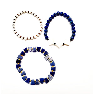 Jeza Bracelets - Set of 3 Women - Jewelry - Bracelets