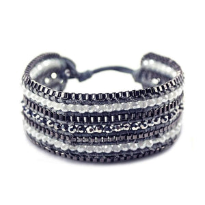 Looped Bracelet- Coal Women - Jewelry - Bracelets
