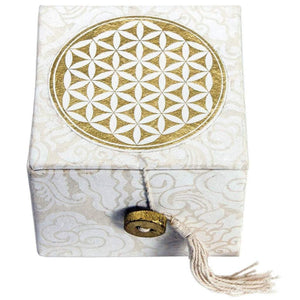 Meditation Bowl Box: 3'' Flower Of Life (GC) Meditation