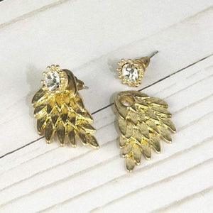 Mega Earrings-Gold Women - Jewelry - Earrings