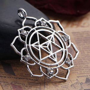 Merkaba Meditation Pendant Women - Jewelry - Necklaces