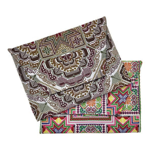Needlepoint Hmong Clutch Women - Bags - Clutches & Evening