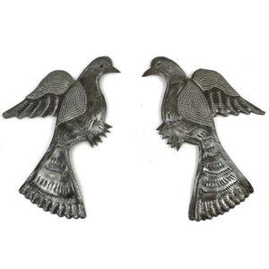 Pair of Birds Metal Wall Art (GC) Metal Wall Art
