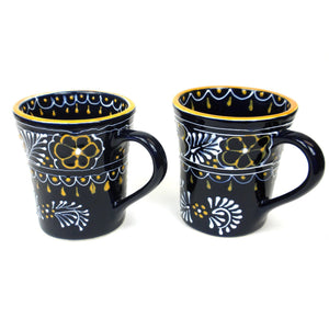 Pair of Flared Cup - Blue (GC) Encantada