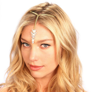 Pearl Tikka Headpiece Women - Accessories - Hair Accessories