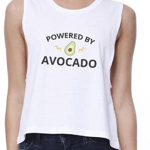 Powered By Avocado Crop Top Women - Apparel - Shirts - Sleeveless