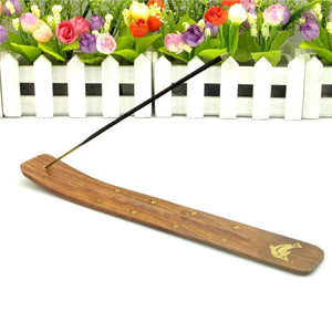 Premium Carved Wooden Traditional Incense Holder