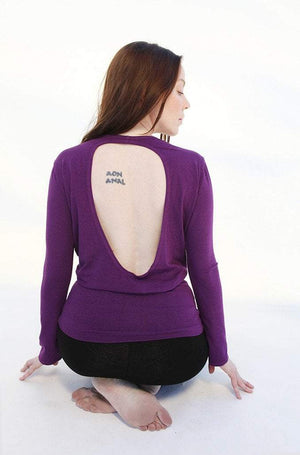 Satori Top with Key Hole Back S / Purple Women - Apparel - Shirts - Blouses