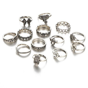 Silver Constellation Ring 21A309 Anillos
