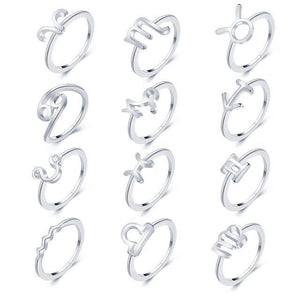 Silver Constellation Ring CS551625 Anillos