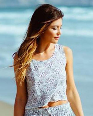 SWEET & SIMPLE CROP TOP Women - Apparel - Shirts - Blouses