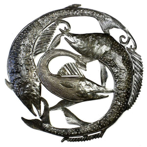 Swordfish Metal Wall Art (GC) Metal Wall Art