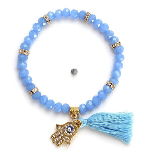 Tassel Beads Bracelet in 8 Colors Strand Bracelets