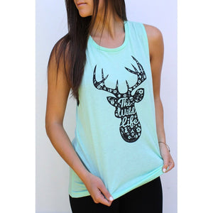 The Wild Life Tank Women - Apparel - Shirts - Sleeveless