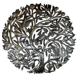 Tree of Life with Buds 24-inch Metal Wall Art (GC) Metal Wall Art