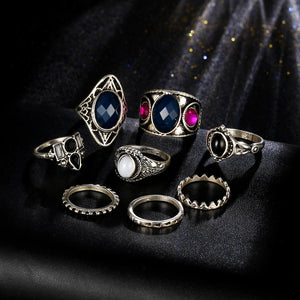 Turkish Dreams Vintage Ring Set