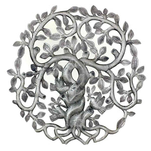 Twisted Tree of Life with Swirling Branches Wall Art (GC) Metal Wall Art