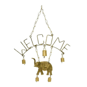 Welcome Elephant Chime with Five Bells - Mira (GC) Bell