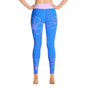 Women's Active Comfort Sport Aloha Full Length Leggings Women - Apparel - Activewear - Leggings