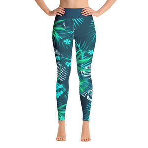 Women's Active Comfort Sport Veronica Full Length Leggings XS / Blue Women - Apparel - Activewear - Leggings
