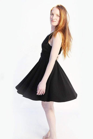 "Women's Dress ""Rati"" S / Black Women - Apparel - Dresses - Day to Night"