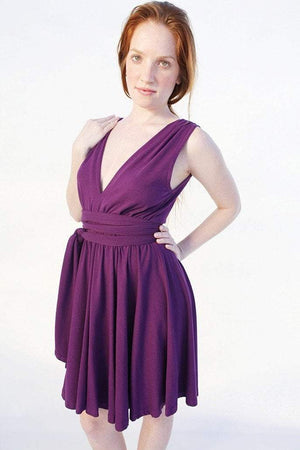 "Women's Dress ""Rati"" S / Purple Women - Apparel - Dresses - Day to Night"
