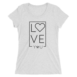 Women's LOVE Triblend Tee Women - Apparel - Shirts - T-Shirts