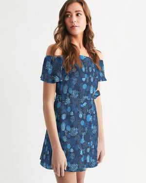 Women's Sea Reef Off-Shoulder Dress Women - Apparel - Dresses - Casual