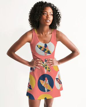 Women's Surfer Girl Casual Racerback Dress Women - Apparel - Dresses - Casual