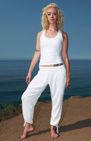 Women's Yoga Kung Fu Pants  Long S / White Women - Apparel - Pants - Leggings
