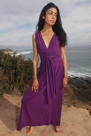 Womens Empress Dress S / Purple Women - Apparel - Dresses - Maxi