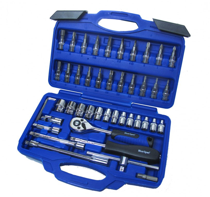 "46 Pce 1/4"" Drive Socket Set"