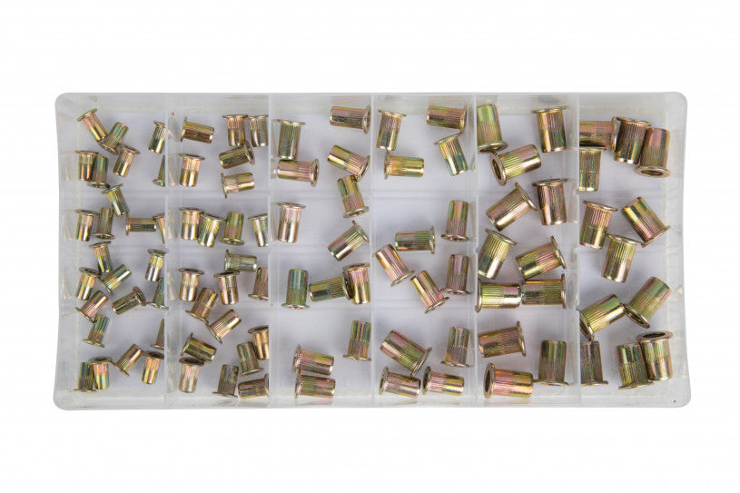 100PCE Nut Rivets (M3 - M6)