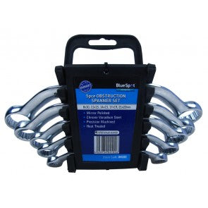 5 Pce Chrome Vanadium Metric Obstruction Spanner Set (8-22mm)