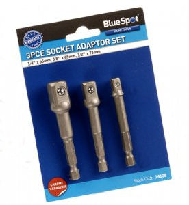 Blue Spot 3PCE Adaptor Set