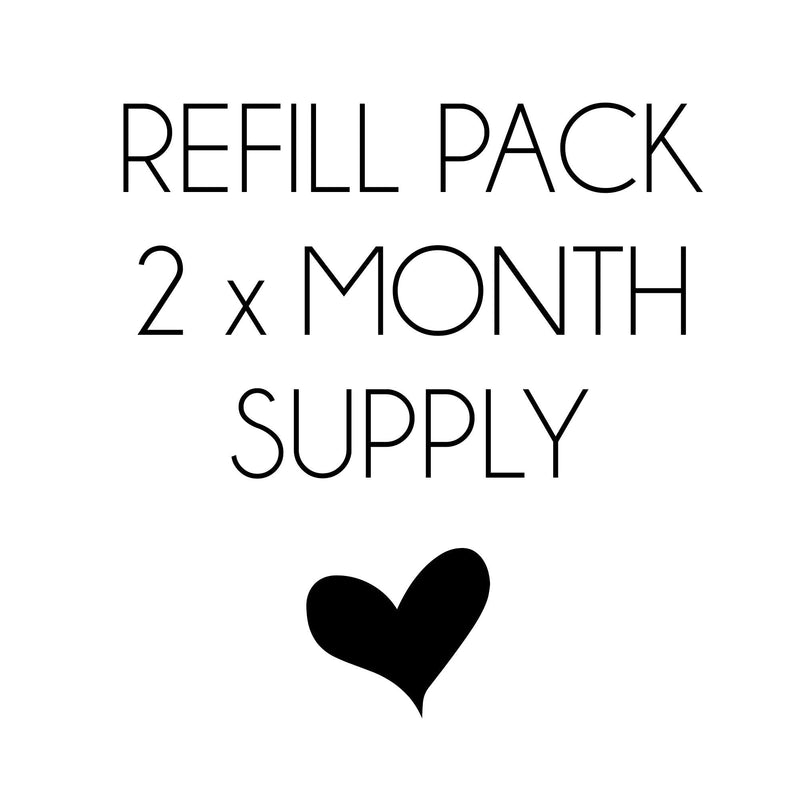 My Beauty Luv Type 1 PEPTAN Premium Hydrolysed Collagen - 160 caps - 2 MONTH REFILL Pack