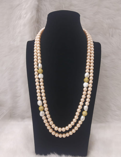 Funky Fruit 2 Stranded Pearls Necklace