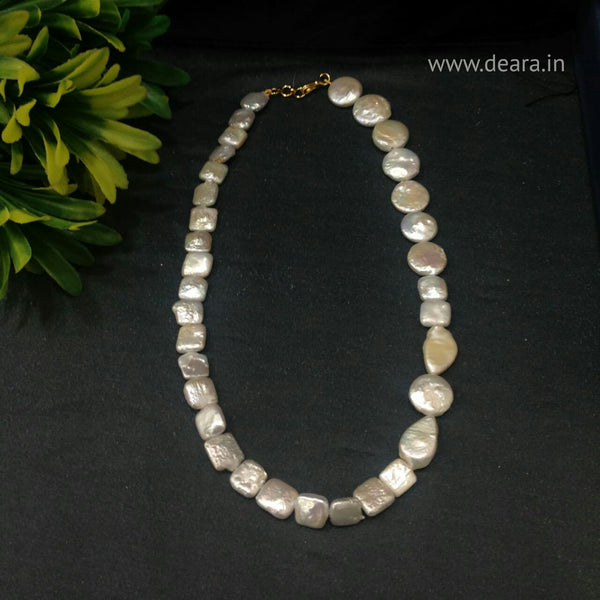 Mix Shape of Baroque Pearls Necklace