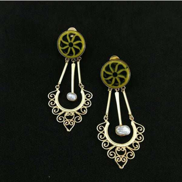 Swings of Happiness Long Earrings
