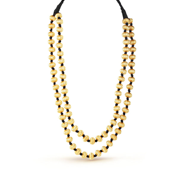 Ethnic Royal Gold Necklace
