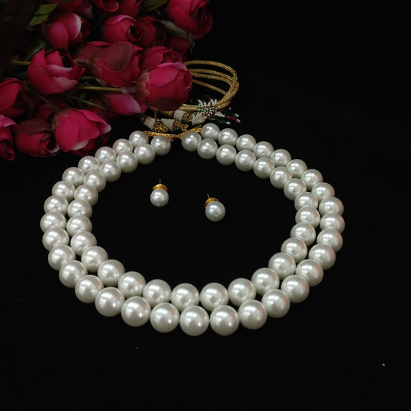 Affluence of Pearls Necklace Set